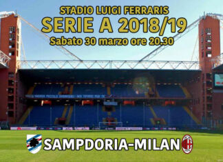 streaming sampdoria-milan