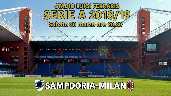 streaming sampdoria-milan