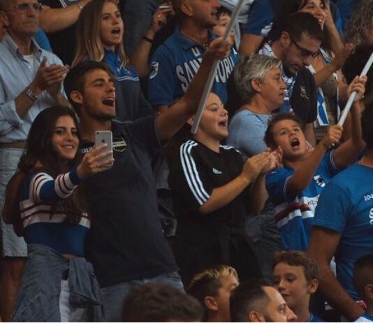 sampdoria video tifosi