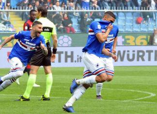 defrel esultanza sampdoria-genoa highlights