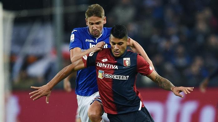 Genoa Sampdoria live formazioni calciomercato