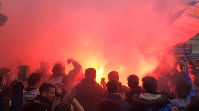 tifosi sampdoria derby ac hotel