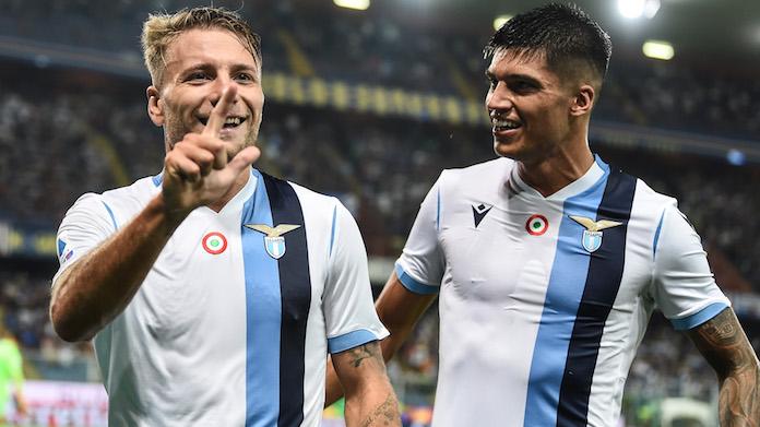 Immobile Sampdoria live
