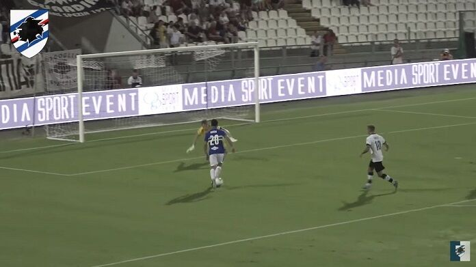 spezia-sampdoria highlights video