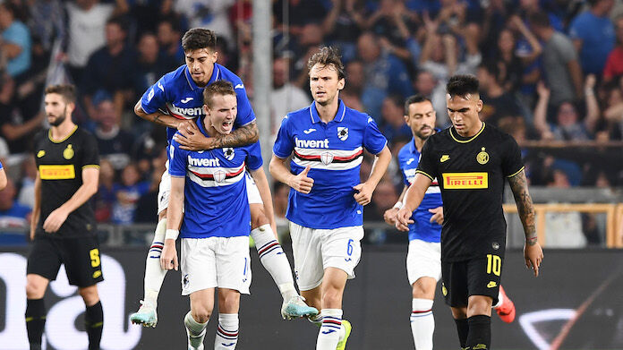 Coppa Italia Cagliari Sampdoria highlights