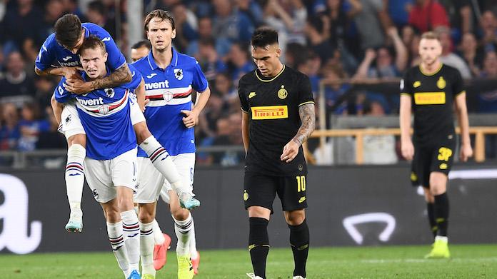 highlights inter sampdoria