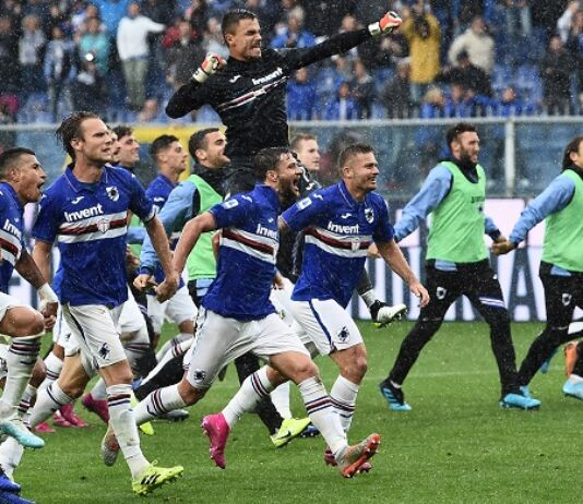 Sampdoria Linetty Roma età media