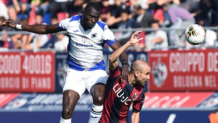 colley palacio bologna sampdoria