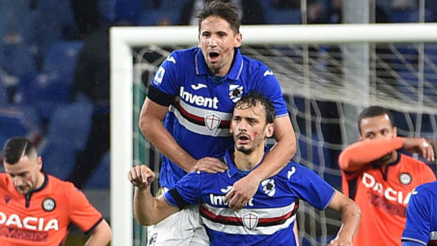 Gabbiadini Ramirez Sampdoria