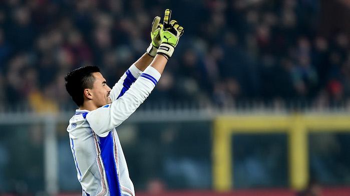 audero derby sampdoria genoa