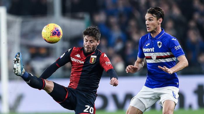 Sampdoria genoa derby schone ekdal
