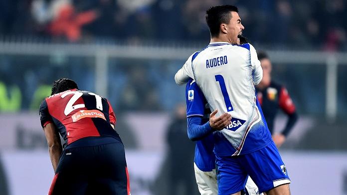 Audero Sampdoria genoa