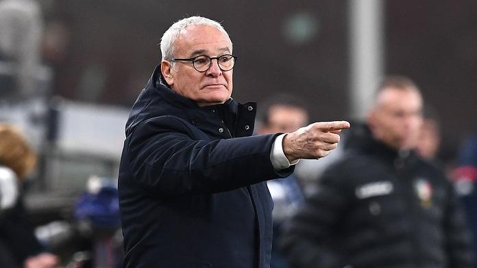 Sampdoria Napoli formazioni Ranieri