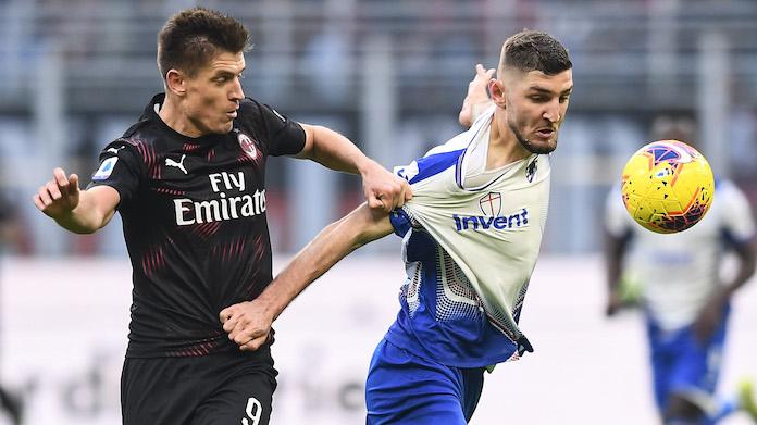 Milan Sampdoria highlights