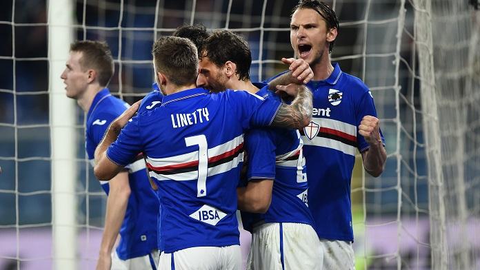 Sampdoria gabbiadini Fiorentina Ranieri