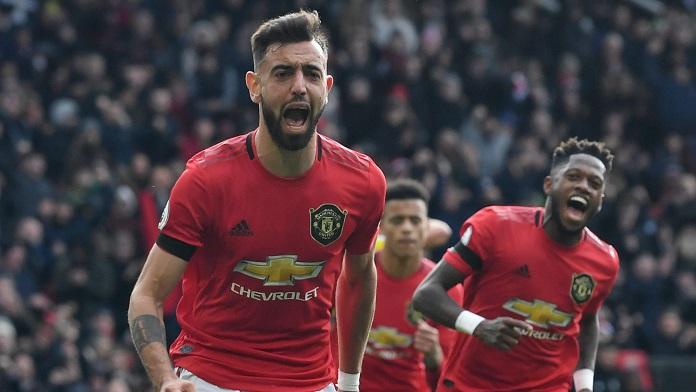 bruno fernandes gol manchester united