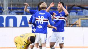 Sampdoria classifica
