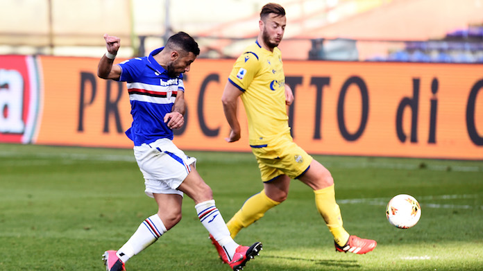 Sampdoria Hellas Verona highlights