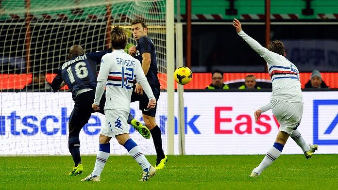 renan gol inter sampdoria