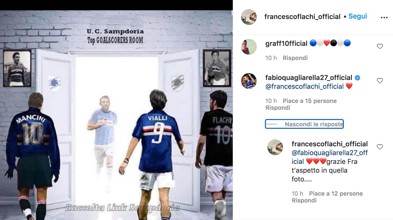 Instagram Flachi Quagliarella