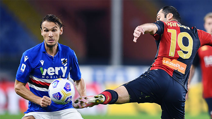 Sampdoria Genoa highlights